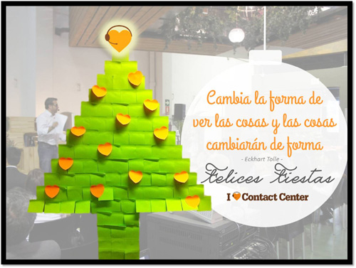 Feliz Navidad desde Contact center Institute